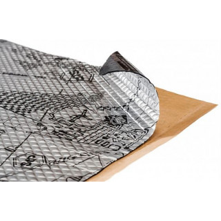 Шумоизоляция - виброизоляция STP/ Вибропласт Silver, толщина 1,6 мм,  0,47 х 0,75 м
