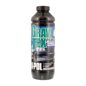 U-POL/ Gravi Tex Plus HS Антигравийное покрытие черное, 1л