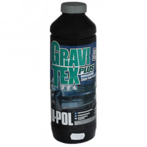 U-POL/ Gravi Tex Plus HS Антигравийное покрытие серое, 1л