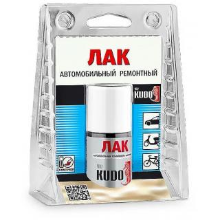 KUDO/ KU-70000 Лак автомобильный ремонтный с кисточкой 15 мл.