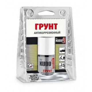 KUDO/ KU-70006 Грунт антикоррозионный ремонтный во флаконе с кисточкой, 15мл
