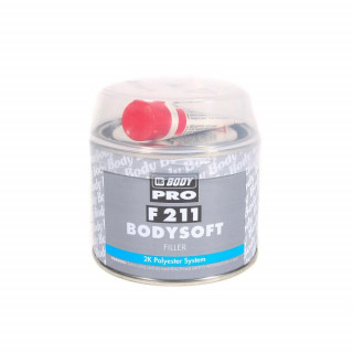 BODY/ 211 SOFT PRO Шпатлевка полиэфирная,0,25кг