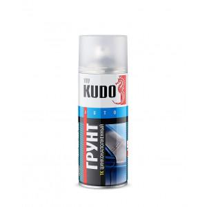 KUDO/ KU-2301 Грунт цинконаполненный, серый, 520мл