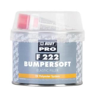 BODY/ 222 BAMPERSOFT Шпатлевка для бамперов (черная) 0,25кг