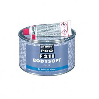 BODY/ 211 SOFT PRO Шпатлевка полиэфирная, мелкозернистая 0,38кг