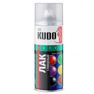 KUDO/ KU-9002 Лак универсальный, акриловый, глянцевый, 520 мл