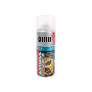 KUDO/ KU-4001 Алкидная эмаль, Баклажан 107, аэрозоль, 520 г