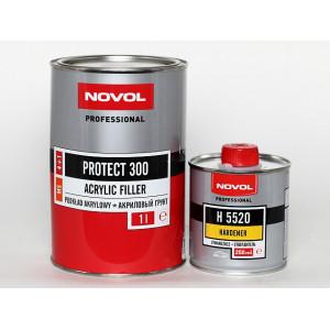 NOVOL/ Protect 300 MS Грунт акриловый 4+1 черный (1+0,25л), Польша