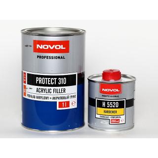 NOVOL/ Protect 310 HS Грунт акриловый 4+1 белый (1+0,25л), Польша