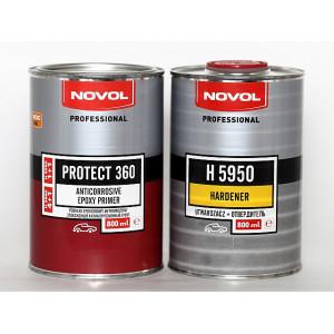 NOVOL/ Protect 360 Грунт эпоксидный антикор. 2К, 1+1, 0,8л+0.8л(отв), Польша
