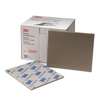 3М/ P500-600 Ultra Fine Губка абразивная, сверхтонкое зерно, 115х140мм