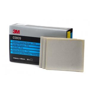 3М/ Р400-500 Super Fine Губка абразивная, сверхтонкое зерно,115х140мм