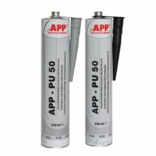 APP/ PU50 Герметик шовный полиуретановый в тубе, черный 310мл