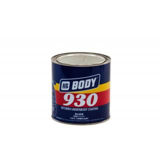 BODY/ 930 Мастика антикоррозийная (черная)  1кг
