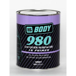 BODY/ 980 PRO Грунт-наполнитель,1К (серый) 1л