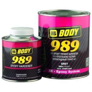 BODY/ 989 Эпоксидный грунт-наполнитель 4:1, 1+0,25л