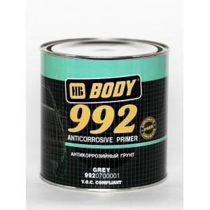 BODY/ 992 Алкидный антикоррозионный грунт 1К (серый) 5л