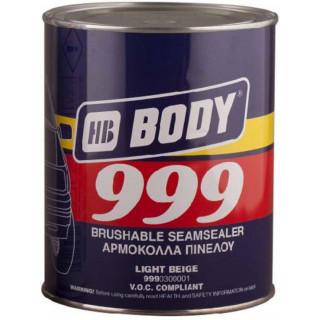 BODY/ 999 Герметик светло-бежевый окрашиваемый  1 кг