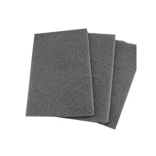 ИСИСТЕМ/Нетканый абразивный мат.IFLEX Ultra Fine серый в листах 150х230мм