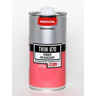 NOVOL/ THIN870 Разбавитель универсальный для базы 0.5л