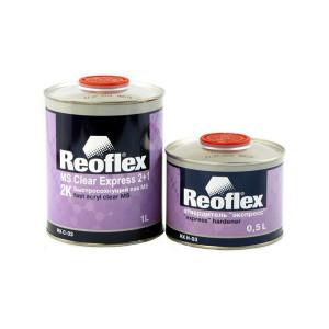 REOFLEX/ Express 2K лак бесцветный 2+1 отв.1+0.5л