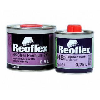 REOFLEX/ HS 2K лак бесцветный 2+1 отв.0,5+0.25л