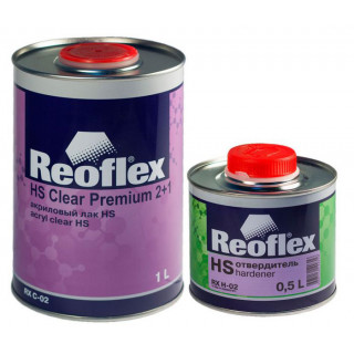 REOFLEX/ HS 2K лак бесцветный 2+1 отв.1+0.5л