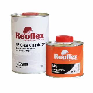 REOFLEX/ MS 2K лак бесцветный 2+1 отв.1+0.5л