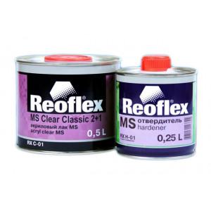 REOFLEX/ MS 2K лак бесцветный 2+1 отв.0,5л+0.25л