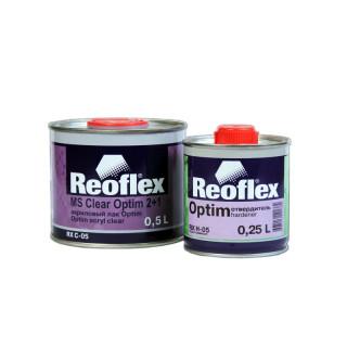 REOFLEX/ Optim 2К лак бесцветный 2+1 отв. 0.5+0.25л