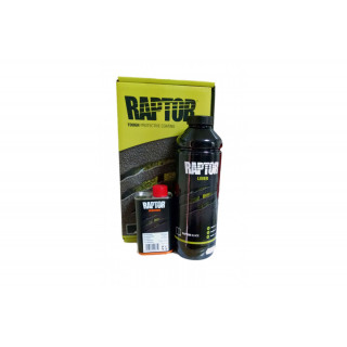 U-POL/ RAPTOR 2K 3:1 Защитное покрытие повышенной прочности, черный, комплект 4+1