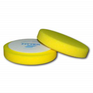 FITTER/ Полиров.круг из поролона d150 желтый универсальный, гладкий №9