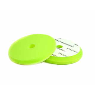 Сверхпрочный поролоновый полировальный диск зеленый диаметр 130/150 мм (velcro)