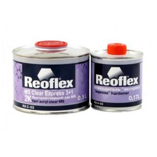 REOFLEX/ Express 2K лак бесцветный 3+1 отв.0,5+0.17л