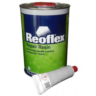 REOFLEX/ Смола полиэфирная 2К, 1кг + 20гр.отвердитель