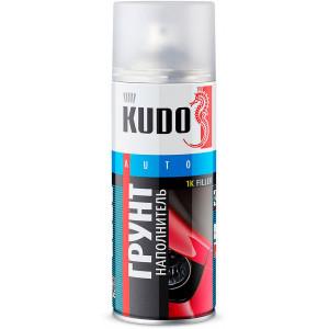 KUDO/ KU-2203 Грунт - наполнитель акриловый, черный, аэрозоль 520мл